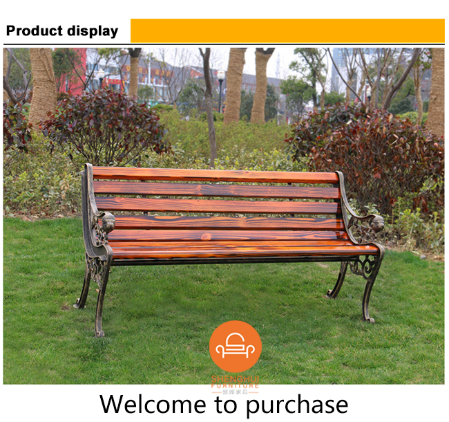 High Quality Waterproof Composite Park Benches Beach Parts