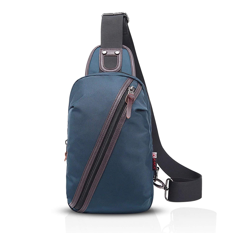 Get Quotations · FANDARE Shoulder Backpack Cross Body Bag Sling Bag Men Women  Polyester f743d1b345