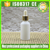 30ml white ceramic dropper bottle glass essential oil bottle