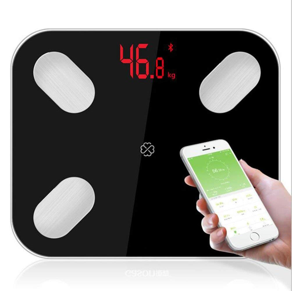 Get Quotations Bluetooth Body Fat Scale Caliamary Smart Wireless Digital Bathroom Weight Large Led Display And