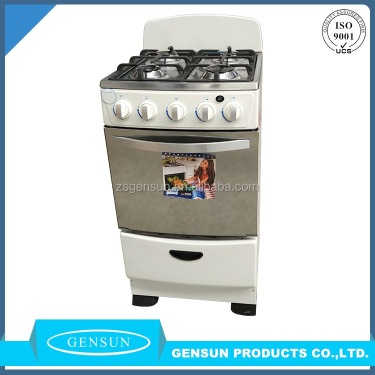 Full Gas 50x50 Free Standing Cooker 4 burner stove with oven