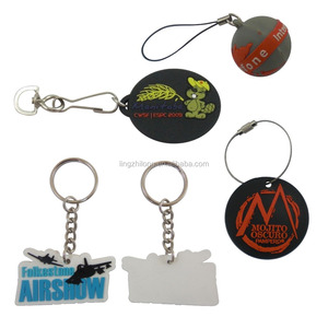 Promotional Silicon Custom Rubber Keychains
