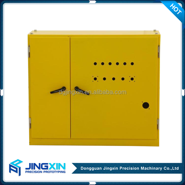 Customized stainless steel bending industrial electrical control panel box distribution cabinet small metal enclosure box