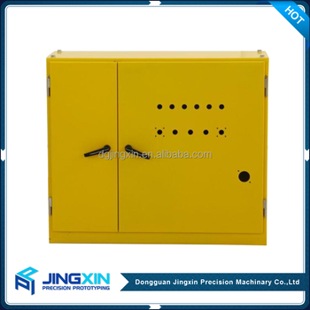 Customized Stainless Steel Bending Industrial Electrical Control Panel Box Distribution Cabinet Small Metal Enclosure