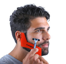 New Double-side Template comb beard shaping tool for men beard shaper