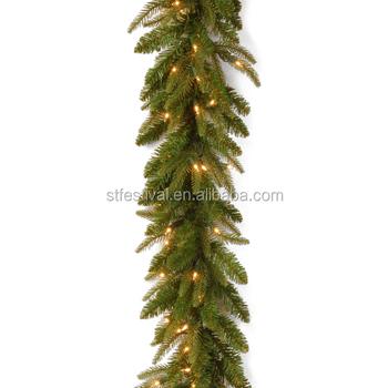 High Quality Wholesale Decoration Pvc Led Light Christmas Garland With Bulbs Buy Led Christmas Garland Christmas Decoration Light Garland With Bulbs