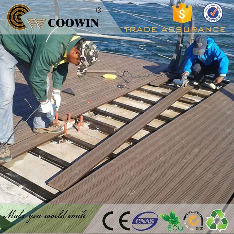 Anti feu wpc lames de terrasse bois de plancher en for Plancher exterieur plastique