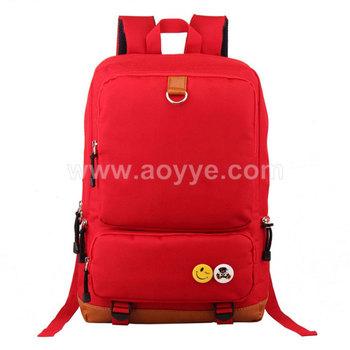 e1d39862e5 Pure color beautiful promotional oxford fabric child school shoulder bag  design cheap fashion kid laptop teenage