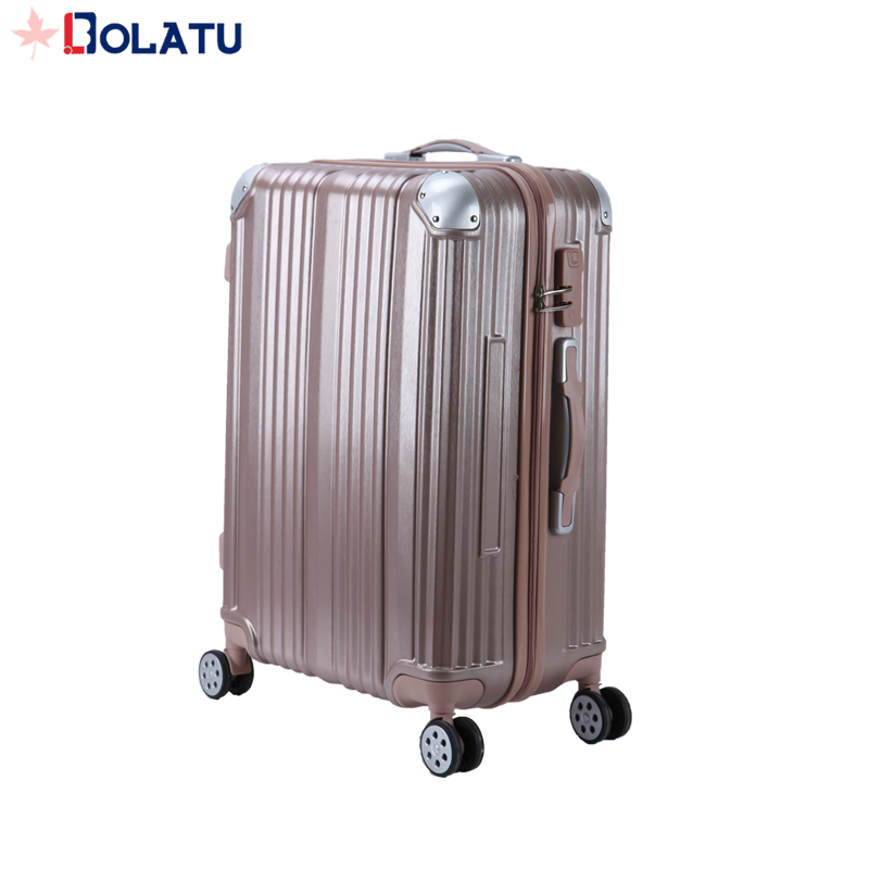 cheap and reliable ABS+PC material trolley travel luggage for girl luggage