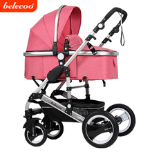 2017 Belecoo China manufacture high view baby stroller 3 in 1 with EN1888