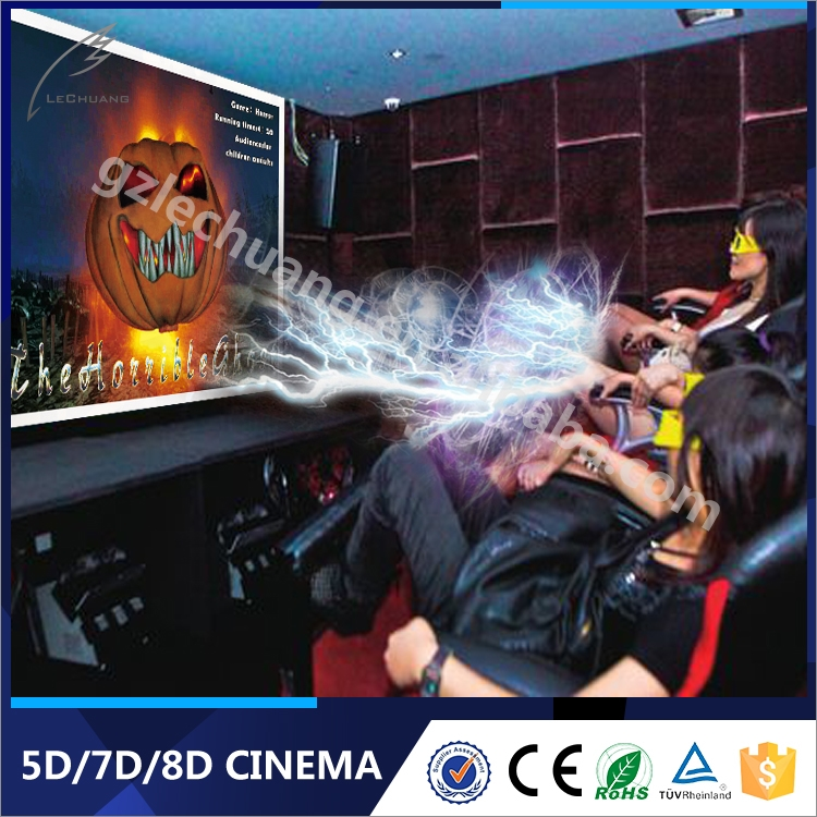 Best Quality 4D Home Cinema Theater Set 6/8/9 4D Simulation Ride
