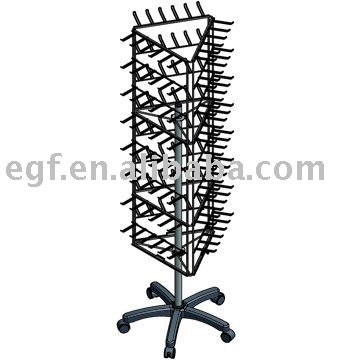 Floor Spinner Display Stand / Metal Spinning Display