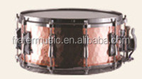 High Grade Snare Drum with Hammered Copper Shell (JSN-021)