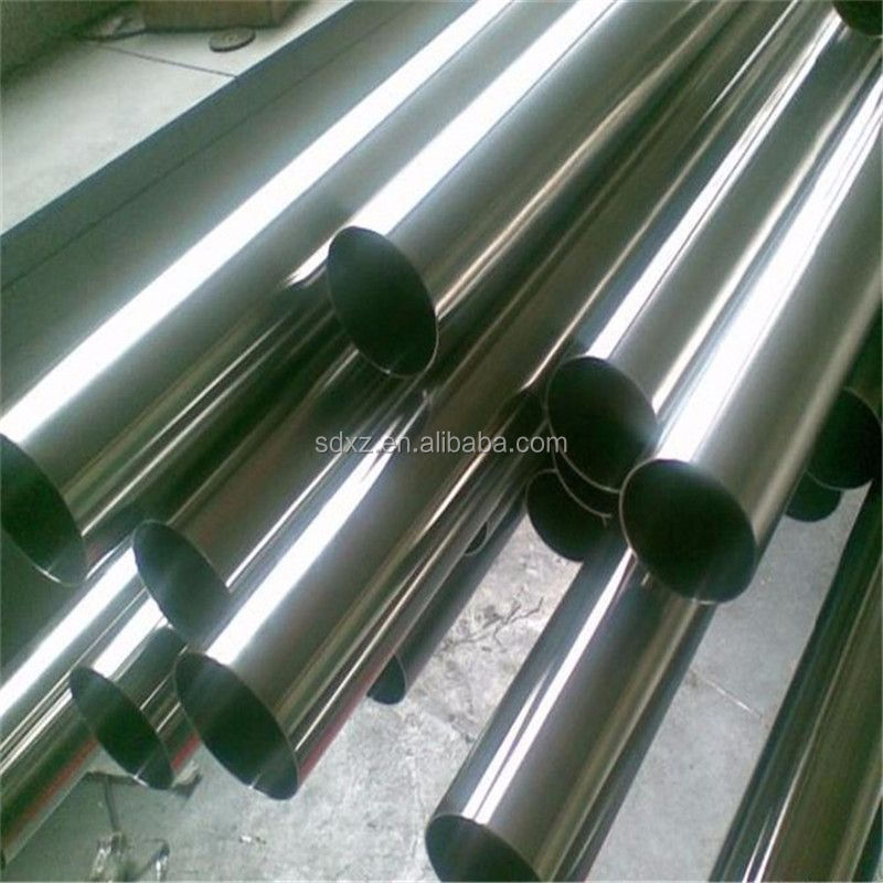 320G Satin ASTM a312 316L 6 inch welded stainless steel pipe