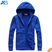 OEM Winter Men Casual Sportswear Man Hood Zipper Long-sleeved Slim Fit Leisure Polyester Hoodie