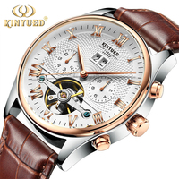 Top Brand Luxury KINYUED Business Automatic Mechanical Watch Men Waterproof Sport Wrist Watches