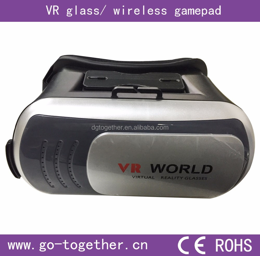 Wholesale Low Price and hight quality Virtural Reality vr glasses for 3D game player