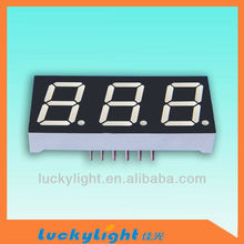 Super Bright! 0.28 inches Blue Digital led display 3 digits