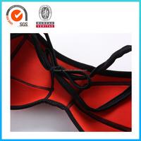Color neoprene swimwear quick dry swimwear red