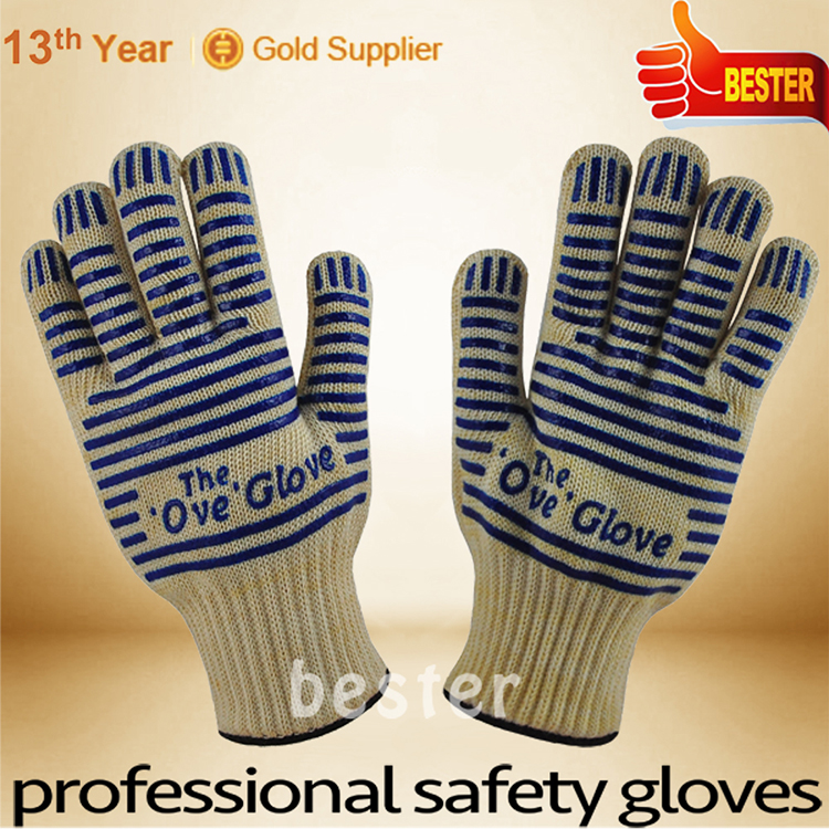 Latest Fashion Discount 150 degree heat resistant rigger gloves