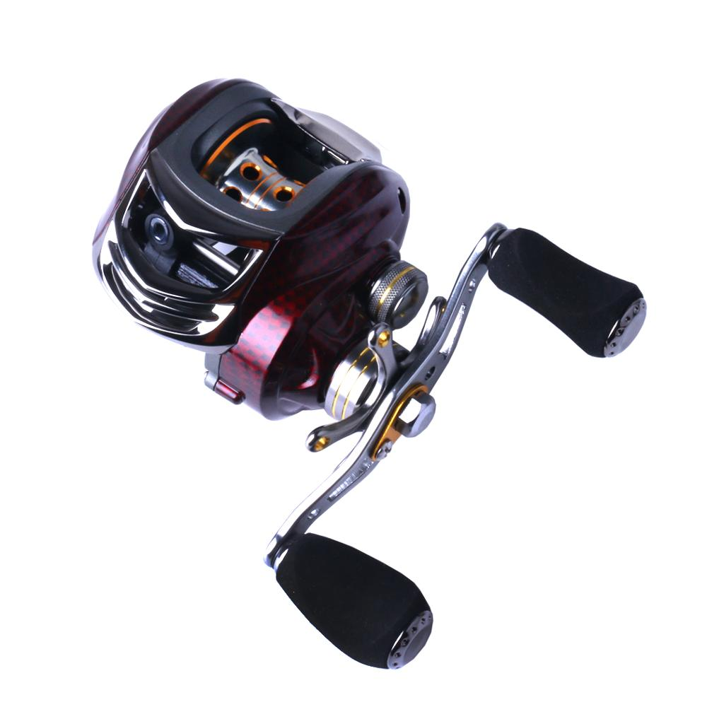 18+1BB 7.0:1 Low Profile Baitcasting Reel Left/Right Hand Bait high quality Casting Fishing Reel, As picture show