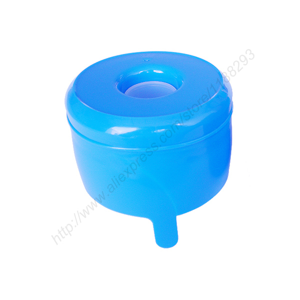 3 or 5 Gallon Bottle One Time No Spill Water Bottle Cap-in