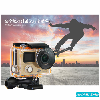 H3r 4k 25pfs 2 7k 30fps 1080p 60fps Waterproof Wifi Sports Action Camera -  Buy Action Camera,Sports Camera,Sports Action Camera Product on Alibaba com