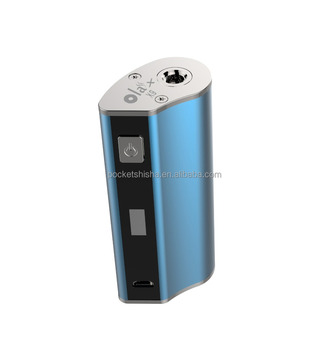 Electronic Cigarette vaping eicg OLAX X9 design your picture vape pen kit 2200mAh box mod