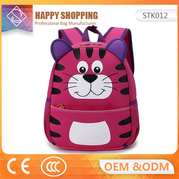 Custom Made 3D School Backpack& kids bags& school bag