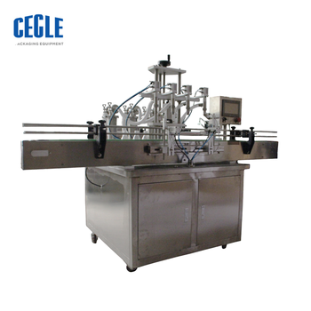 A4-500 automatic oil bottle filling machine, manual pet/milk/water/mini/spice/glass bottle filling machine
