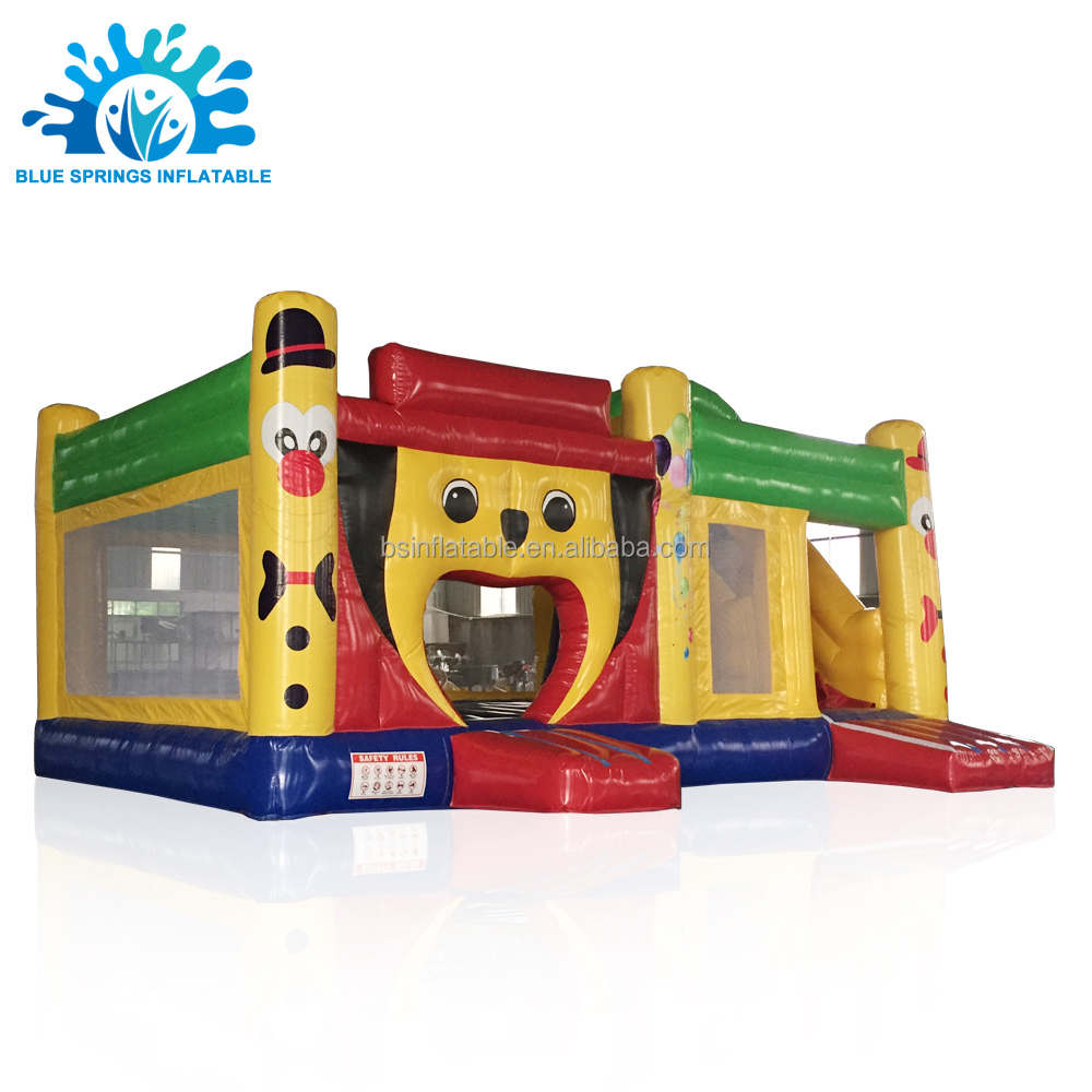 blue inflatable jump castle, blue inflatable jump castle