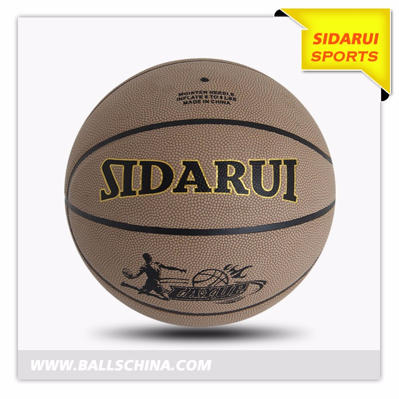 Professional PU Official Size 29.5 Inch 7# sports match Wearproof Basketball