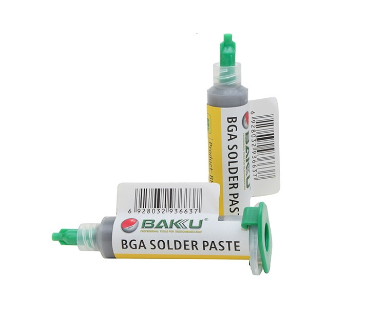 BAKU BK 6351 solder paste for curing and stong adhesion flux