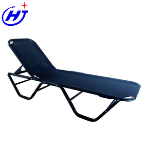 UKEA Outdoor Swimming Pool Chaise Lougue Metal Folding Beach Sun Lounger