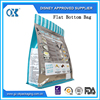 Flat bottom sterile packaging pouch frozen food pouch