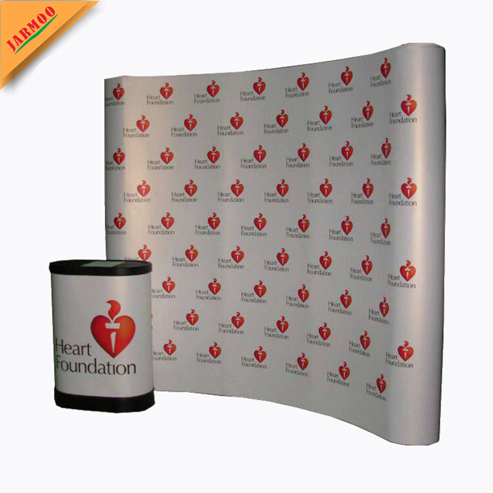 brand new modern custom made promotion display table, display for advertising, pop up display