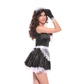 Lynmiss Nice Sexy 2016 Masquerade Womenu0027s Flirty French Maid Costume Fancy Dress Partywear Cosplay  sc 1 st  Alibaba & Lynmiss Nice Sexy 2016 Masquerade Womenu0027s Flirty French Maid Costume ...