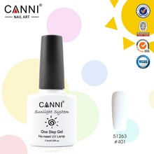 #51263J Wholesale CANNI brand 3 in 1 uv led gel nail polish, canni brands one step color nail gel polish