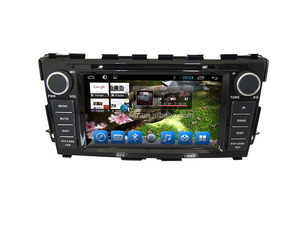 Android car GPS Navigation DVD player for Nissan Teana/Altima 2014