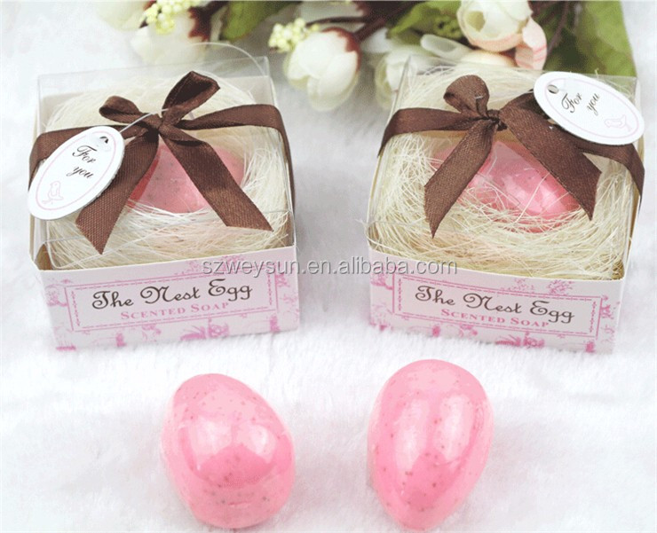 The Nest Egg Scented Soap Wedding Soap Favors Wedding Gifts Wedding