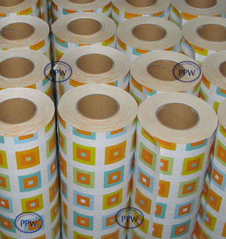 Double sided gift wrapping paper large rolls buy for Decorative paper rolls