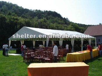 Large outdoor restaurant tent used wedding function for 200 people 10x30 : 10x30 wedding tent - memphite.com