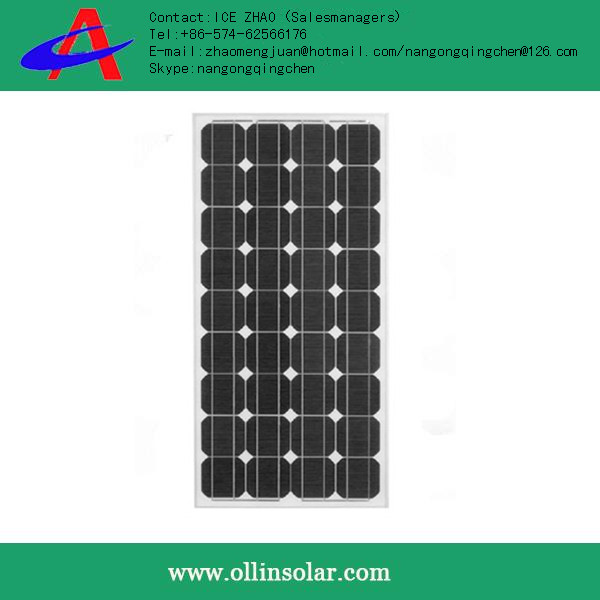 130w panel solar, low price oem solar panel products