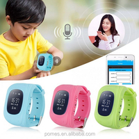 Hot Trend Q50 LBS GPS GSM Kids Tracker Watch with Geo-fence Smart watch for Children