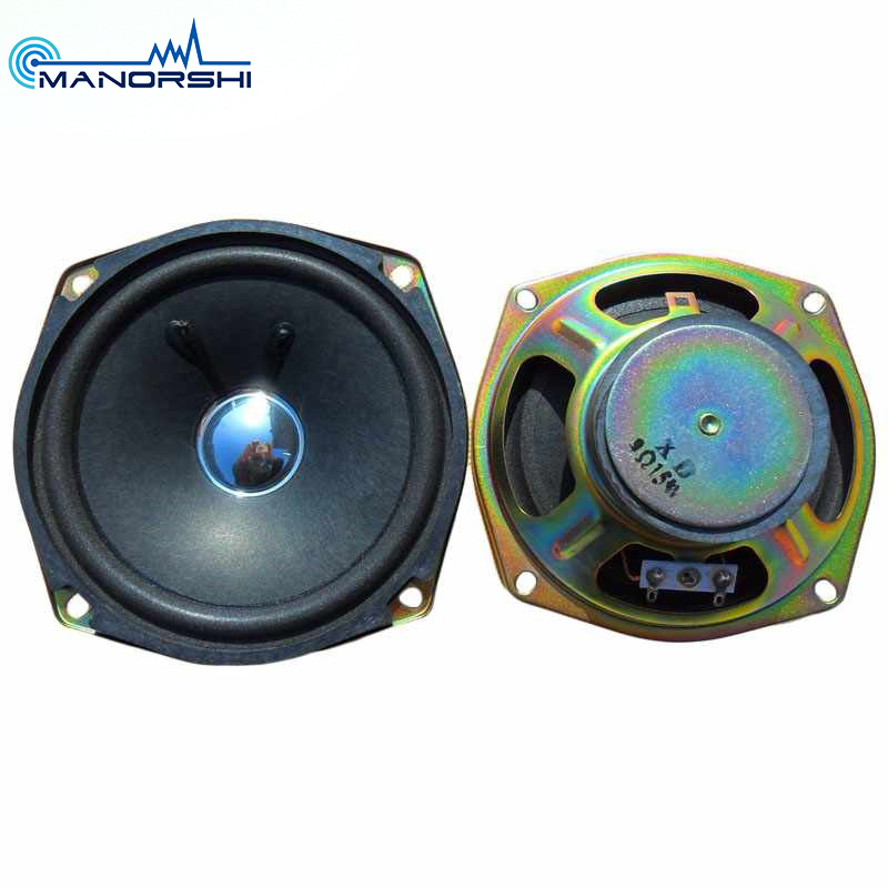 Paper Cone Tahan Air Speaker 4 Inch 8ohm 5 W Mini Baku Mobil Speaker Unit
