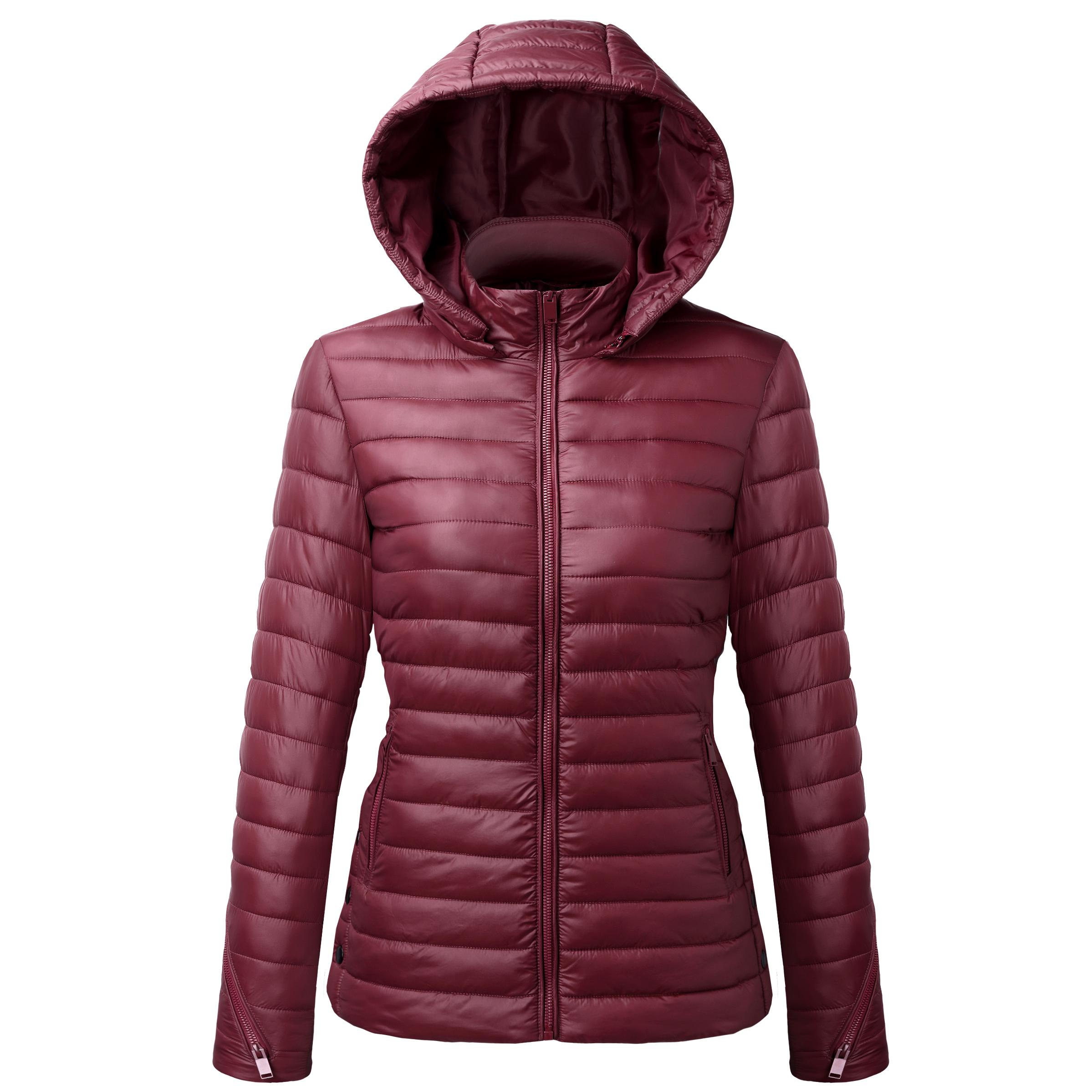 2018 Factory Direct Sale Wholesale 100% Nylon Red Winter Jacket Coat Women  - Buy Winter Jakets Women Coats d2ef75679
