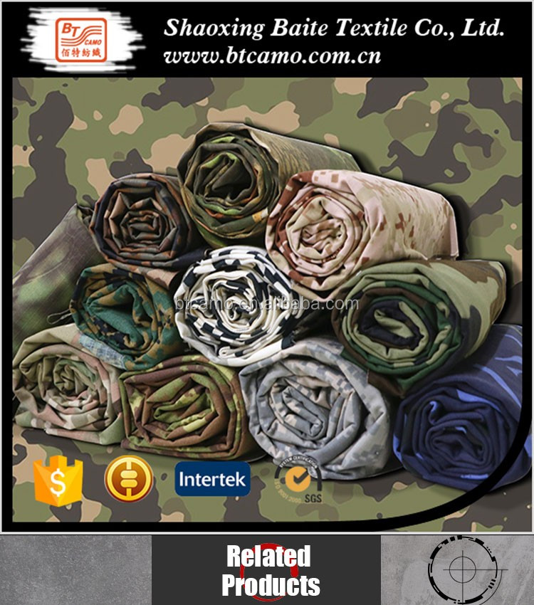 Ripstop Army Multicam Camouflage Stof
