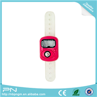 Small Colorful Digital Hand Held Ring Tally Finger Counter