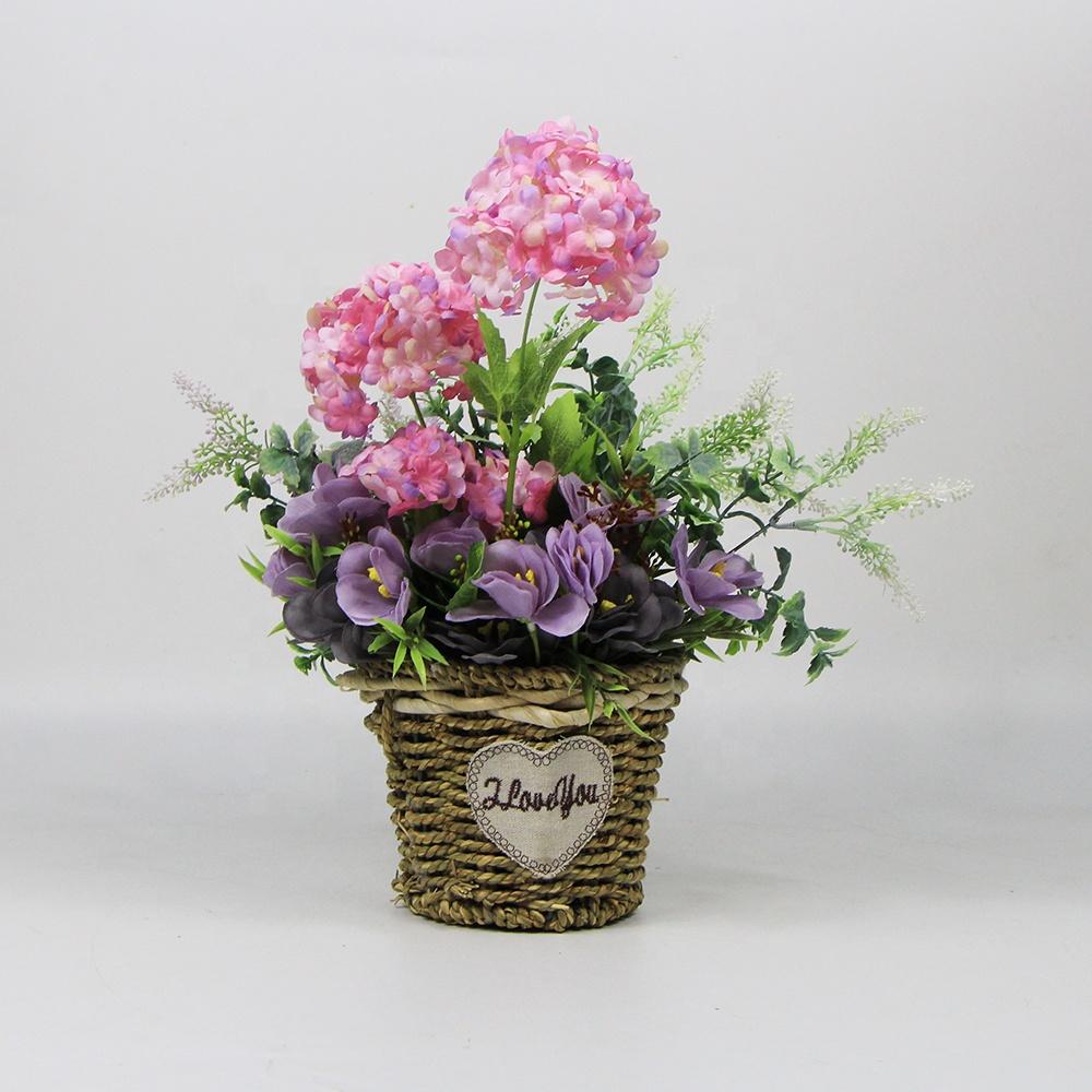 225 & Romantic Pastoral Floral Pink Colourful Flower Pot Plants - Buy Flower Pot PlantsPink Flower Pot PlantsRomantic Flower Pot Plants Product on ...