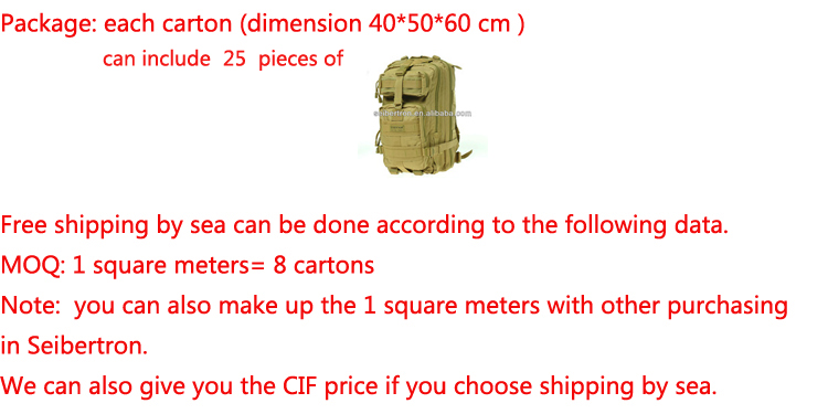 Seibertron Large Falcon Backpack Compact Assault Pack Summit Bag 37L Water Resistant Hiking Camping Backpack